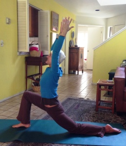 Deb has started doing therapeutic yoga to help heal and strengthen herself